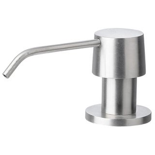 ALFI brand AB5004 Top Filled Deck Mounted Soap Dispenser - 12oz Capacity - n/a (2 options available)