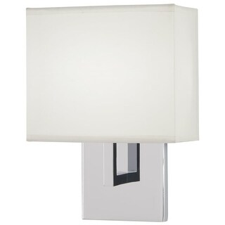 """Kovacs P470-077-L 11"""" Tall Integrated LED Wall Sconce with Square Fabric Shade -"""