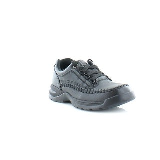 Clarks Caribou L Tod Toddler Boys Casual Black