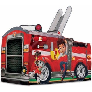 Playhut Paw Patrol Marshall PLAYTENT, Colorful Fire Truck Kids PLAYHOUSE