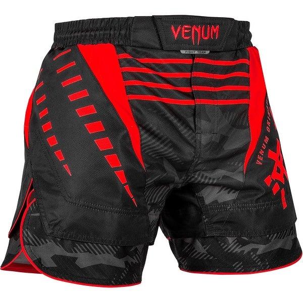 Black//White//Red Venum Okinawa 2.0 MMA Fight Shorts