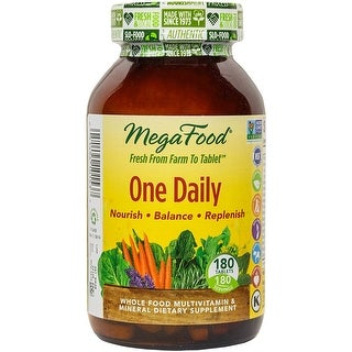 MegaFood One Daily Tablets, 180 Count