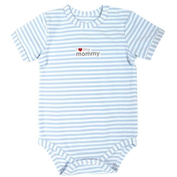 3 - 6 Months Gray Stripe Mini Elephant Snap Shirt - Pack of 4