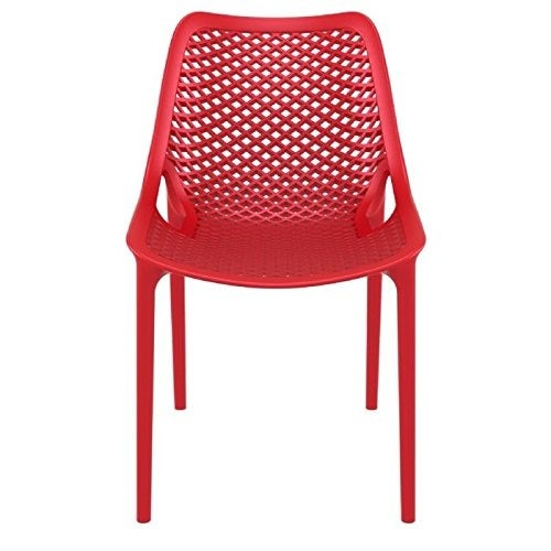 Compamia Air Outdoor Dining Chair Set of 2 - Red