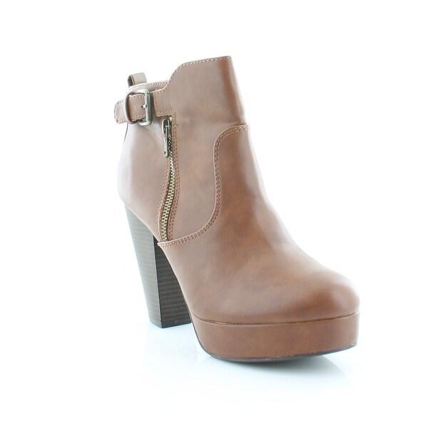Matterial Girl Raelyn Women's Boots Cognac - 9.5