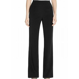 LAFAYETTE 148 NEW Black Women's Size 16 Silk Stretch Dress Pants