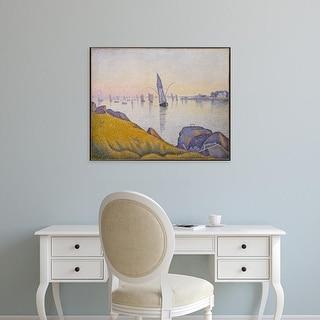 Easy Art Prints 's 'Evening Calm' Premium Canvas Art