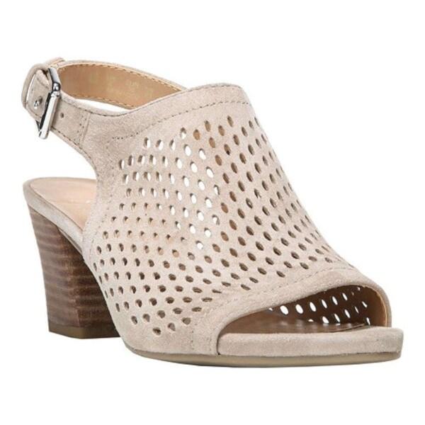 Franco Sarto Womens Monaco2 Leather Open Toe Casual Mule Sandals