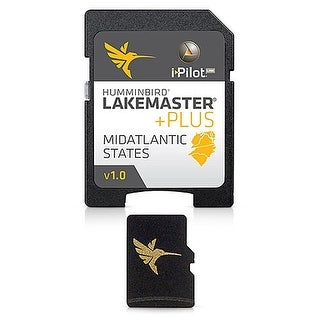 """Humminbird LakeMaster Mid Atlantic States PLUS Humminbird LakeMaster Mid Atlantic States PLUS"""