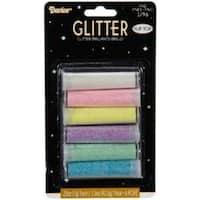 6/Pkg - Fine Glitter - Pastel Colors