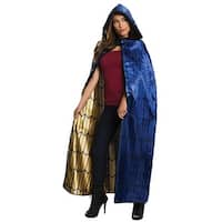 Womens Deluxe Wonder Woman Hooded Cape - Adult