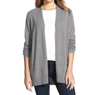 Nordstrom Collection NEW Gray Womens Small S Cardigan Cashmere Sweater