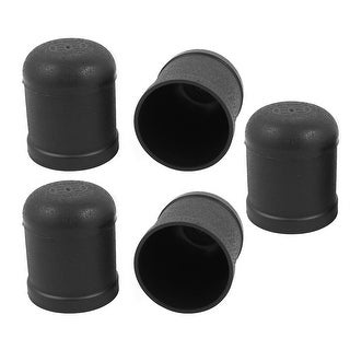 Party Casino Games Cylindrical Entertainment Hand Dice Shaker Cup Black 5 PCS