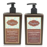 Saphira Mineral Treatment Shampoo & Conditioner Combo 13.5 Oz