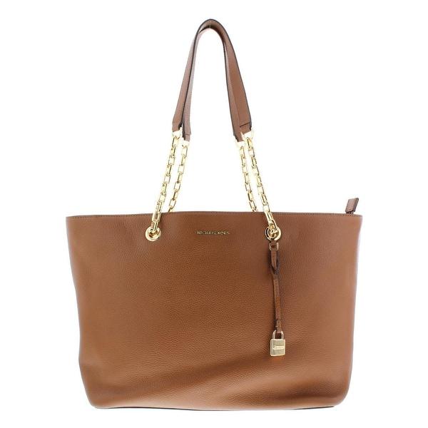 8ccf8d982 MICHAEL Michael Kors Womens Mercer Tote Handbag Leather Pebbled - Extra  large