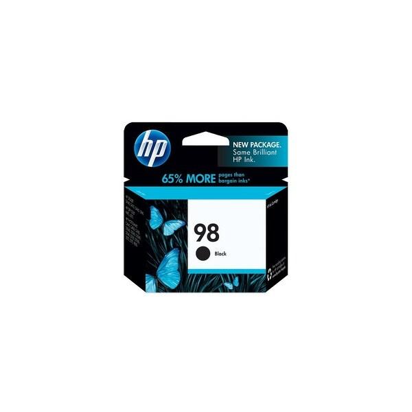 HP 98 Black Original Ink Cartridge (C9364WN) (Single Pack)