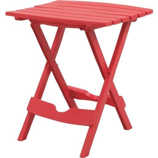 Shop Adams Mfg Patio Furn Cherry Quik Fold Table 8500 26