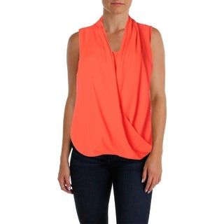 Vince Camuto Womens Chiffon Sleeveless Pullover Top - M