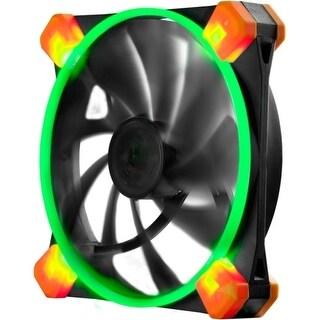 """Antec TRUEQUIET120UFOGREEN Antec TrueQuiet 120 UFO (Green) Cooling Fan - 1 x 120 mm - 1000 rpm - Rubber, Silicon"""