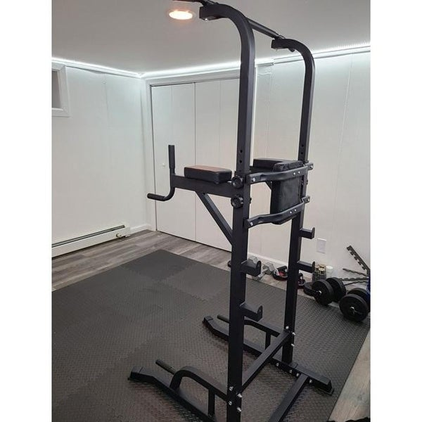 Zenova Power Tower Pullup Weight Machine Without weight bench. Opens flyout.
