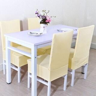 Unique Bargains Beige Chair Slipcover