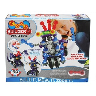 Builderz Zoob Bot 54 Pcs