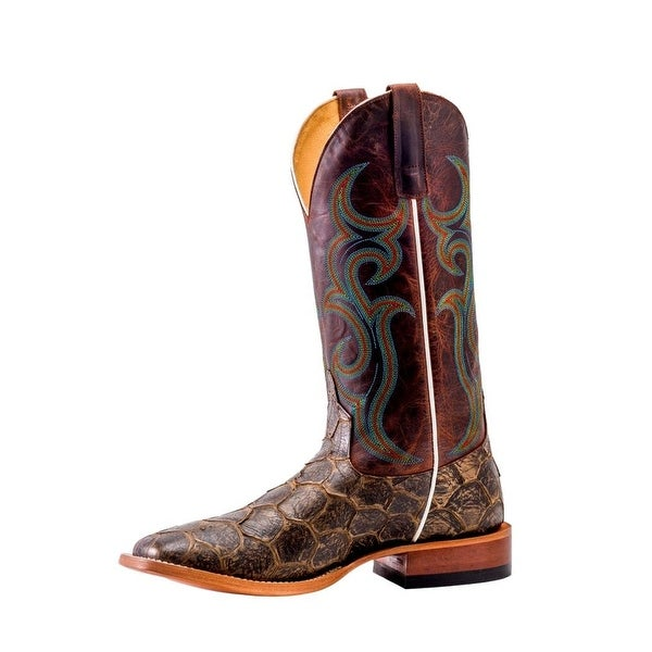 Horse Power Western Boots Mens Roper Pull On Fillet Of Fish
