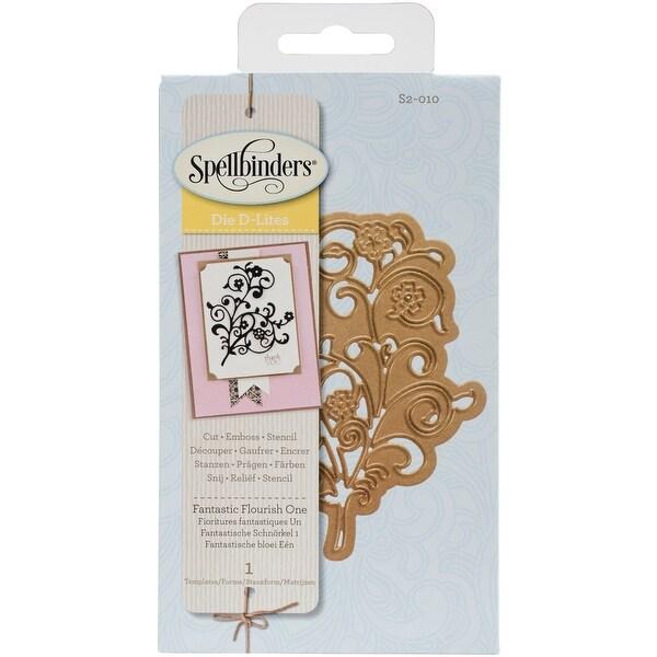 Spellbinders Shapeabilities Die D-Lites-Fantastic Flourish 1