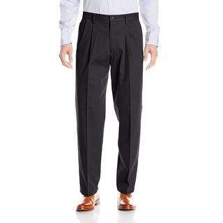 Link to Dockers Mens Pants Black Size 40x29 Pleated Front Straight Leg Stretch Similar Items in Big & Tall
