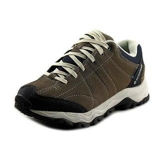 Hi-Tec Libero Low Wp Women Round Toe Suede Tan Hiking Shoe