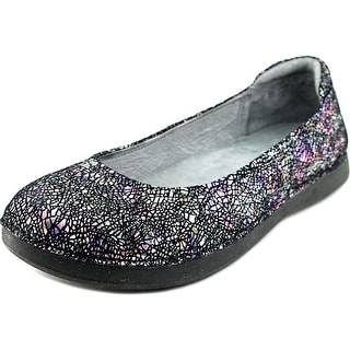 Alegria Petal Women Round Toe Leather Multi Color Flats