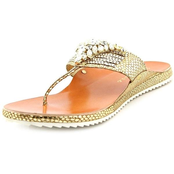 Matisse Raja   Open Toe Leather  Thong Sandal