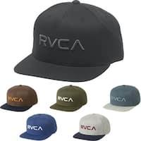RVCA Twill Snapback III Adjustable Mid-Fit Hat