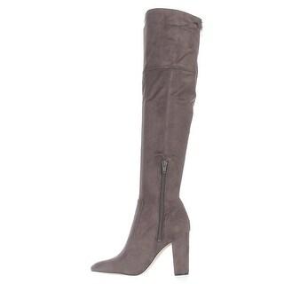 Ivanka Trump Womens Rylee Almond Toe Over Knee Fashion Boots Fashion Boots