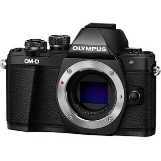 Olympus V207050BU000 Olympus OM-D E-M10 Mark II 16.1 Megapixel Mirrorless Camera Body Only - Black - 3 Touchscreen LCD -