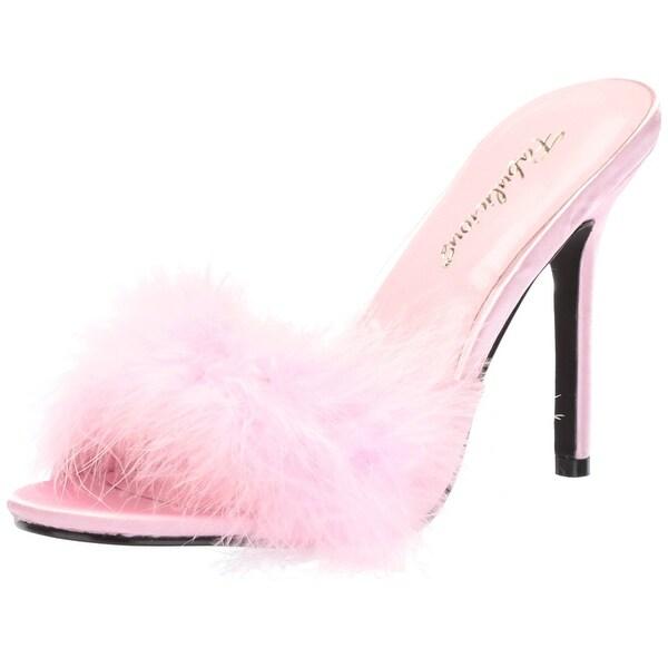 Fabulicious Women's Classique-01f Pump, Pink, Size 5.0 - 5
