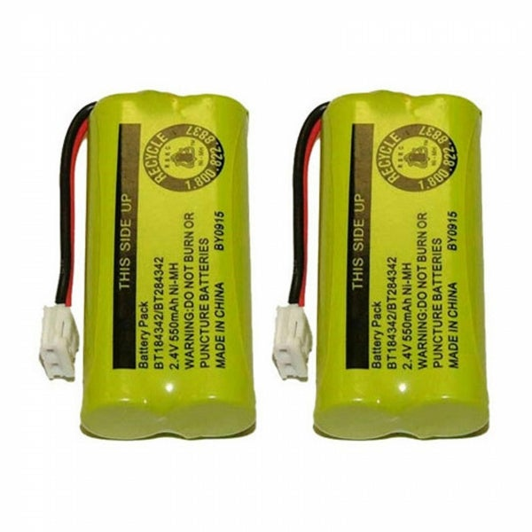 Replacement VTech 6010 / DS6151 NiMH Cordless Phone Battery (2 Pack)