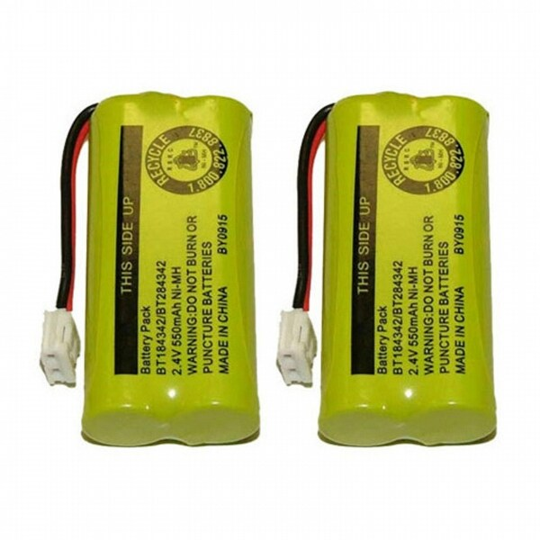 Replacement VTech 6010 Battery for 6051 / DS6301 Phone Models (2 Pack)