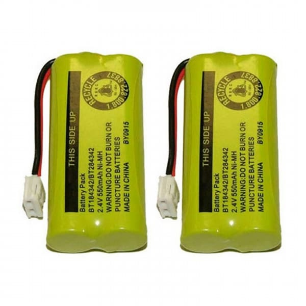 Replacement VTech DS6101 / DS6121-5 NiMH Cordless Phone Battery (2 Pack)
