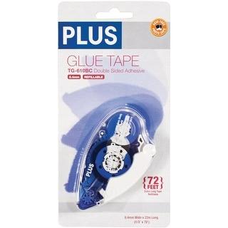 """Plus High Capacity Glue Tape Dispenser-.33""""X72'"""