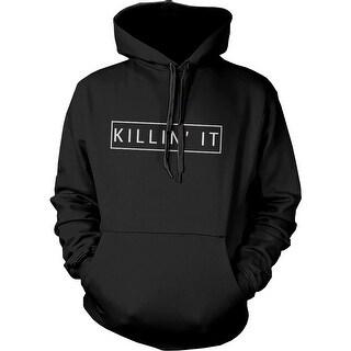 Killin' It Graphic Hoodie Trendy Hooded Sweatshirt Pullover Fleece Sweater