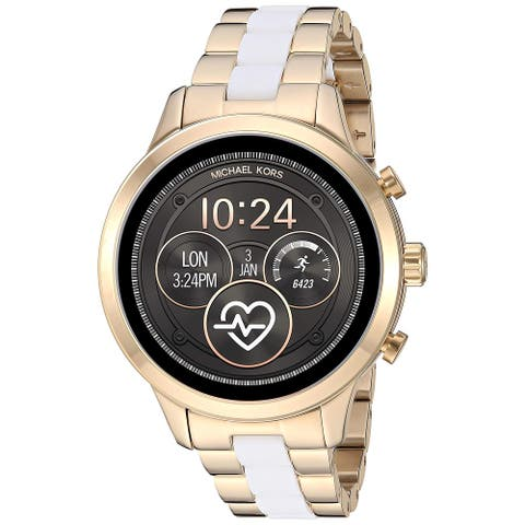 Michael Kors Women's Access Runway MKT5057 Two-Tone Touchscreen Gen 4 Smartwatch - One Size
