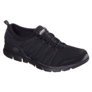 Skechers 22602 BBK Women's GRATIS-SHAKE IT OFF Walking