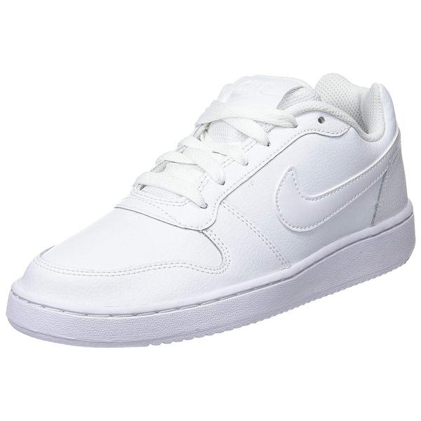 Nike Women's Ebernon Low Sneaker, White