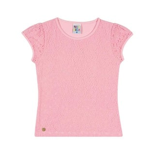 Girls Shirt Kids Top Lace Tee Pulla Bulla Sizes 2-10 Years