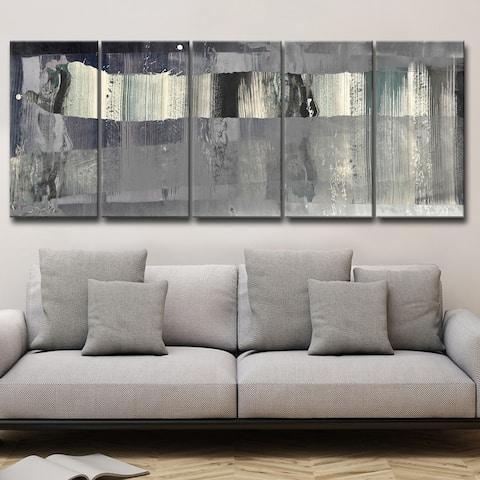 Inkd XLIII' 5-Piece Wrapped Canvas Wall Art Set