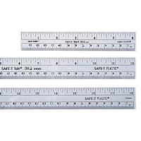 Learning Resources Safe-T Flexible Flat Transparent Ruler, 12 in L, Clear