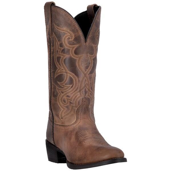 Laredo Womens Maddie Cowgirl Boot, Tan, 6.5M