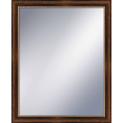 """PTM Images 5-1206 32"""" X 26"""" Rectangular Mirror With Gold Frame - N/A"""