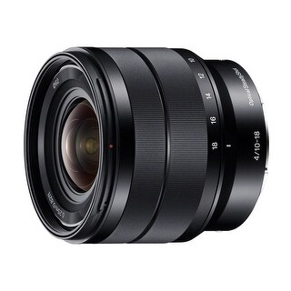 Sony 10-18mm f/4 OSS Alpha E-mount Wide-Angle Zoom Lens - black